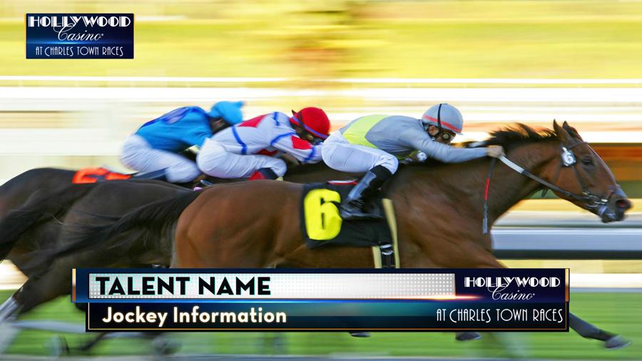 Horse Racing Broadcast Design - Charlestown Race Track