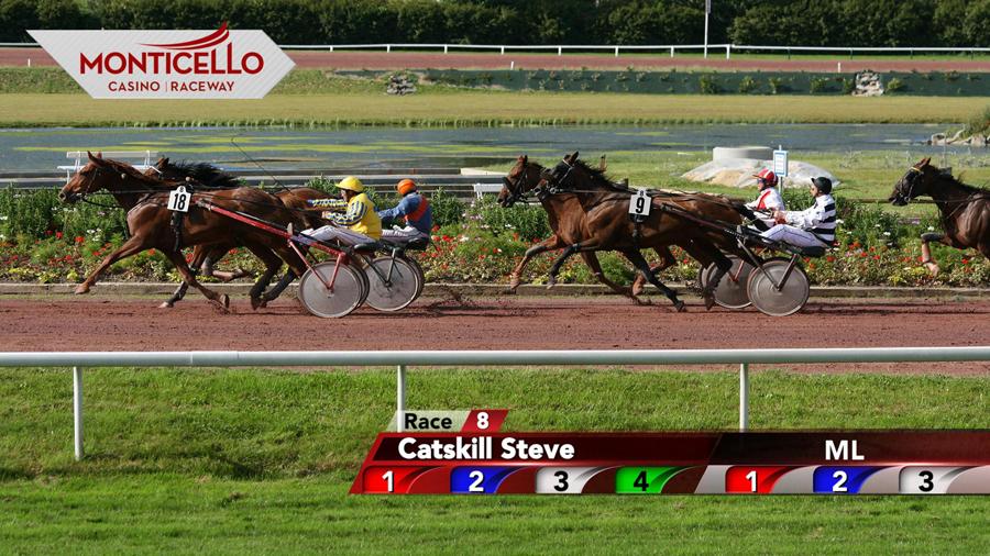 sports broadcast design Monticello Race Track