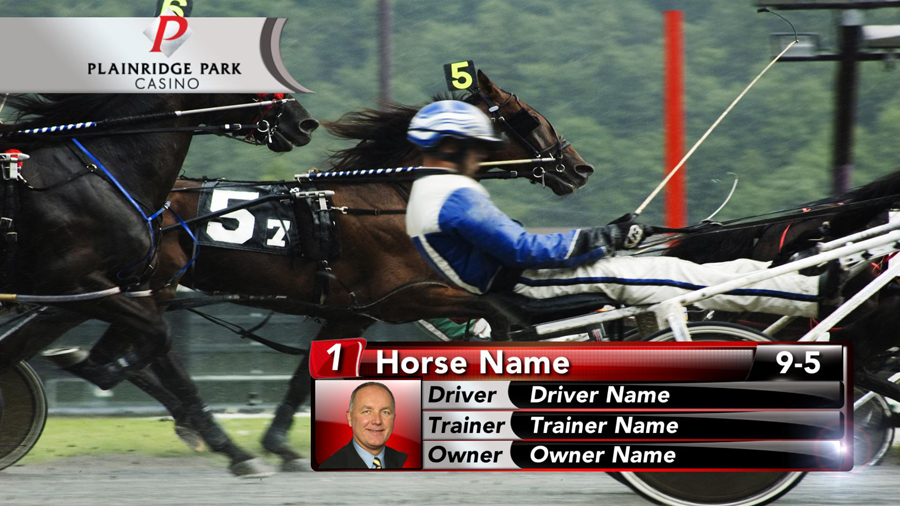 Horse Racing design Plainridge Park