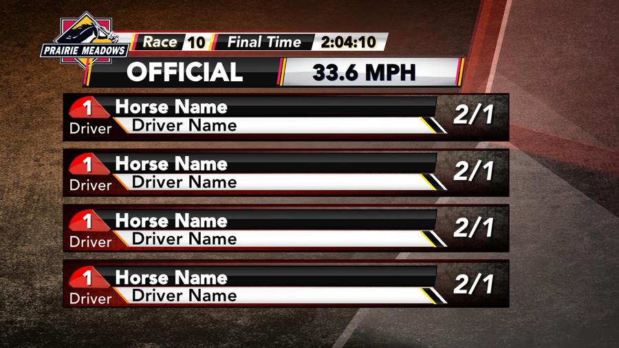 horse racing graphics